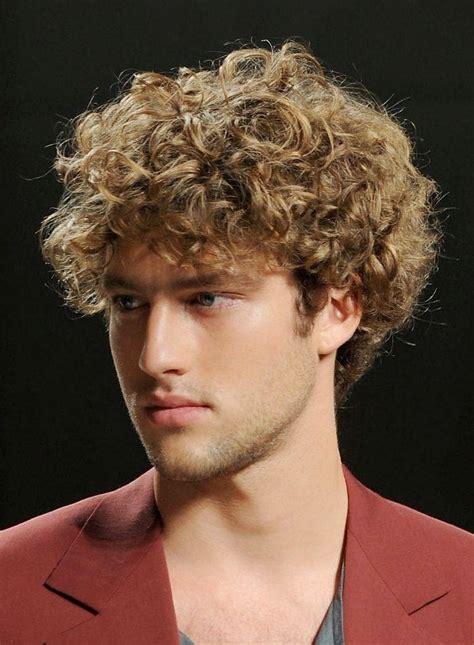 hairstyle  mens curly hairstyles
