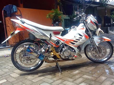 Modifikasi Motor Fu by Modifikasi Satria Fu Fighter 2014 Modifikasi