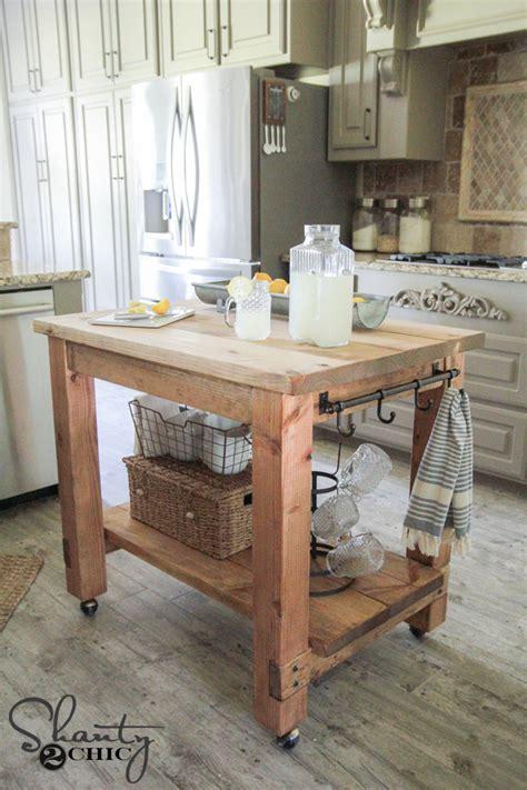 diy kitchen island  plans