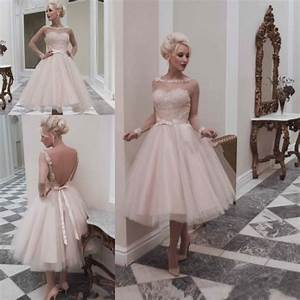 popular tea length pink wedding dresses buy cheap tea With pink tea length wedding dress