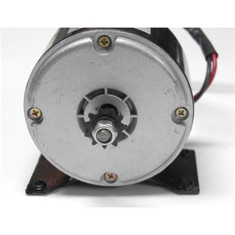 Electric Motor Sprocket by Unite My1016 24v 250w Dc Motor Chain Drive
