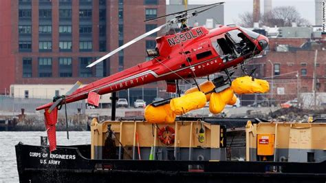 Helicopter Crash In New York's East River Kills All
