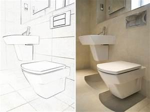 Wand Wc Montage : installation toilette anleitung stand wand wc montage hausliebe ~ Watch28wear.com Haus und Dekorationen