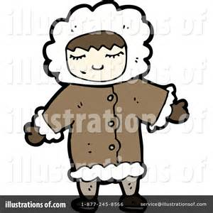 Eskimo Clipart #1186856 - Illustration by lineartestpilot