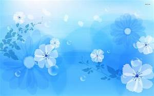 Blue Floral Wallpapers | Floral Patterns | FreeCreatives