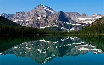 Mountain Lake Reflections Wallpapers