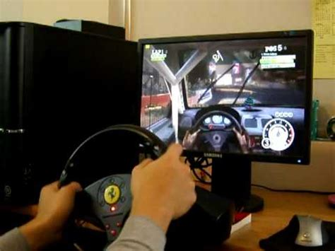 thrustmaster gt experience dirt2 pc with thrustmaster gt experience part3 cockpit view