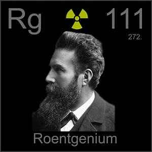 Facts, pictures, stories about the element Roentgenium in ...