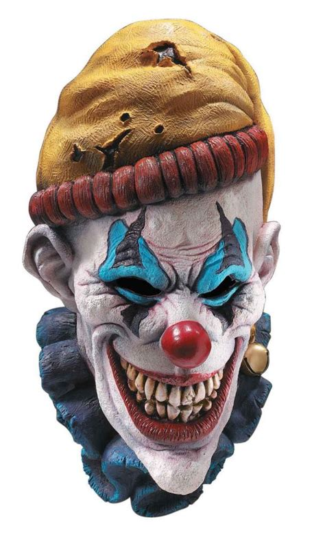 super deluxe insano horror clown mask ap