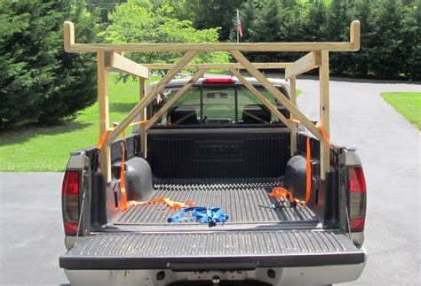 mboat diy kayak rack  pickup