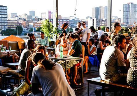 great rooftop bars  johannesburg eat