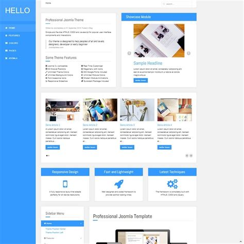 Template Joomla by Professional Joomla Templates