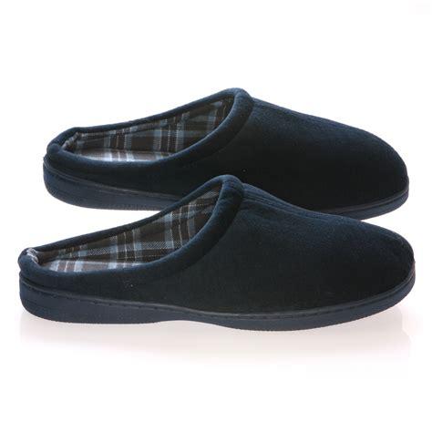 deluxe comfort mens slip  house slipper size