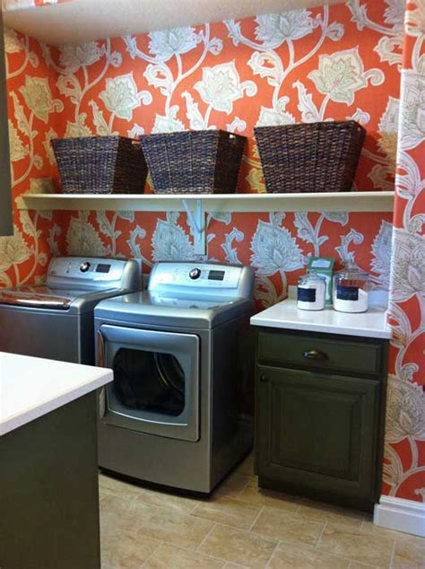 Laundry Room Wallpaper Design Ideas