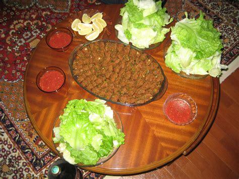 cuisine ile de çiğ köfte vikipedi