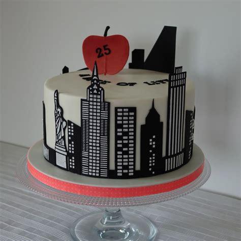 york skyline   cake cake theme  york