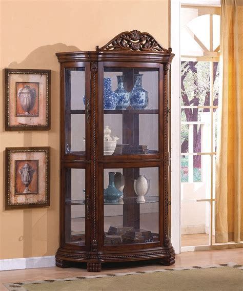 Marianne Half Round Curio at North Carolina Furniture Best