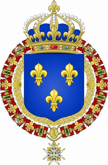Arms Coat Royal France Kingdom Crest Coats