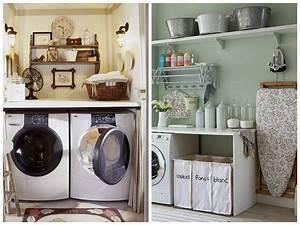 Meuble De Rangement Buanderie : une salle de lavage pratico pratique astuces bricolage ~ Teatrodelosmanantiales.com Idées de Décoration