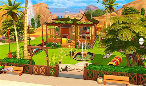 Häuser Park by Sims 4 Cc S The Best Oasis Springs Park No Cc By