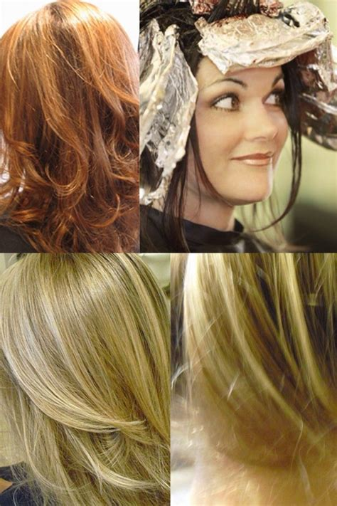 foils  balayage   pick   hair coloring
