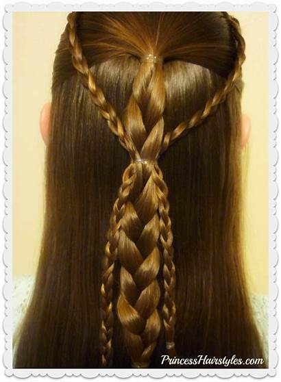 Braids Easy Hairstyle Hairstyles Quick Tutorial Simple