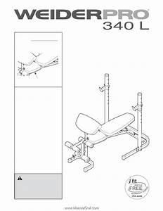 Weider Pro 340 L Bench