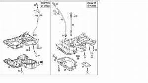 03 C240 4matic Oil Level Sensor Replacement