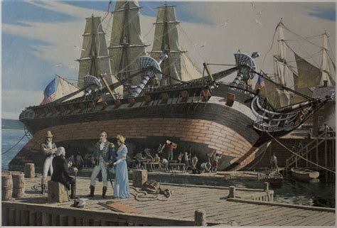 history  dry dock  charlestown navy yard  overview uss constitution museum