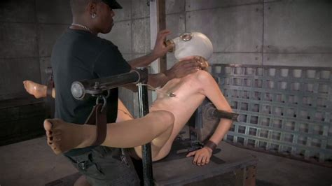 Blonde Slave Girl Emma Haize Gets A Bbc In Her Ruined Snatch