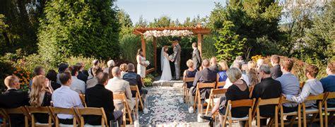small wedding venues  washington state willows lodge