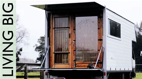 Living Simply in a Wonderful Tiny House Truck - YouTube