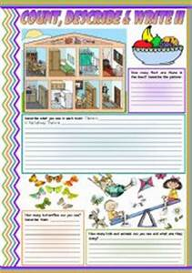 English teaching worksheets describing a house for Describe furniture in your home