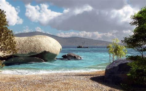 hd sea beach wallpaper hd desktop wallpapers  hd