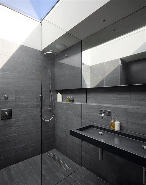 Modern Black Bathroom Ideas by 15 Bold And Beautiful Black Bathroom Design Ideas