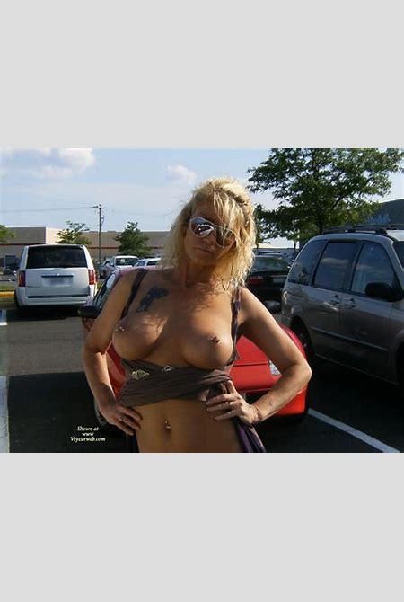 Nipple Slips At The Mall