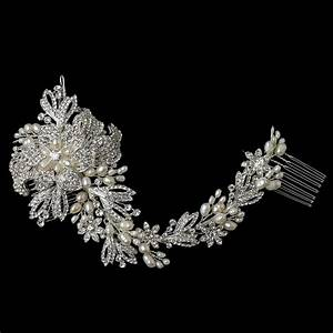 Gallica Bridal Vine Hair Comb - Elegant Bridal Hair