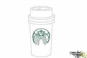 How to Draw a Starbucks Cup | DrawingNow
