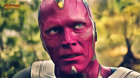 vision  avengers infinity war   hd movies