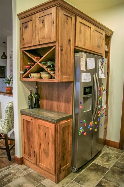 side of kitchen cabinet ideas best 25 refrigerator cabinet ideas on spice