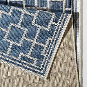 Bougari Outdoor Teppich : in und outdoor teppich bougari bay blau 102481 outdoor ~ Watch28wear.com Haus und Dekorationen