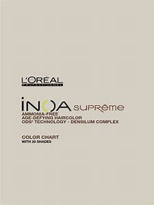 Inoa Supreme With Ods2 Color Chart 7 Allergy Yellow