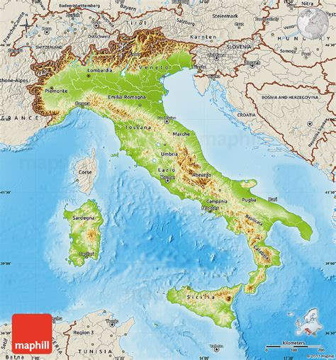 mountain range between and italy images