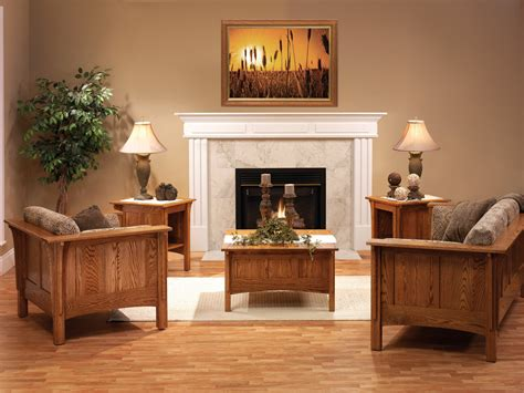 shaker living room amish furniture designed