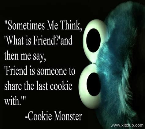 Cookie Monster Quotes and Sayings