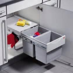 poubelle cuisine encastrable sous evier poubelle de cuisine encastrable pivotante coulissante