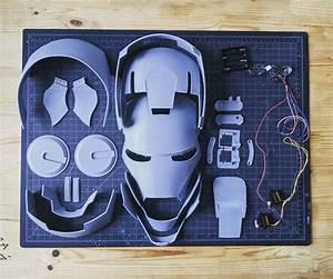 Iron Man Helmet Articulated Wearable 3d Print Model