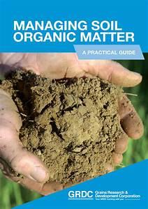 Managing Soil Organic Matter  A Practical Guide