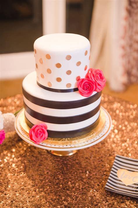 elegant kate spade inspired wedding   detail