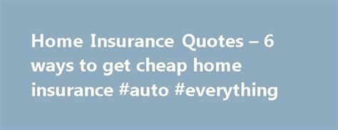 17 Best Ideas About Home Insurance Companies On Pinterest